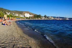 bodrum turecko pláž